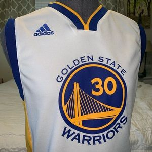 Warriors Curry 30 Jersey Authentic- Like New